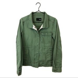 Hurley Army Green Utility Jacket